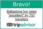 Trip Advisor Excellent Rating