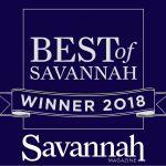 Best of Savannah 2018 badge