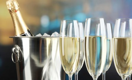 Enjoy a glass of champagne at your next Ballastone event.