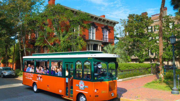old towne trolley