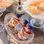 Ballastone Breakfast - juice and croissants closeup