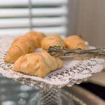 Ballastone Breakfast - closeup on croissants
