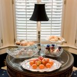 Ballastone Breakfast - closeup on table with treats