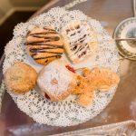 Ballastone Breakfast - closeup on scones and baked treats